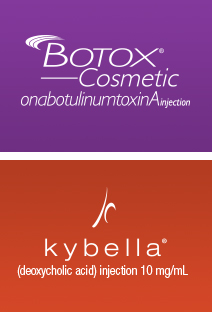 Botox Cosmetic and Kybella Injections